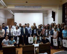 5 Haziran Dünya Çevre Gününü Mamak'ta Demokrasi Orta Okulu'nda kutladık