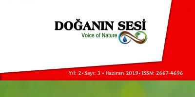 Doğanın Sesi Dergisi Yıl.2 Sayı.3