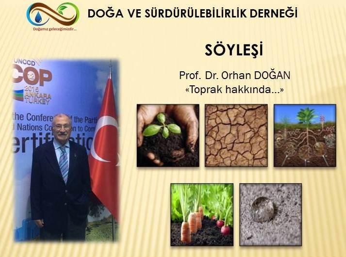 """""""TOPRAK HAKKINDA"""" SÖYLEŞİ"""