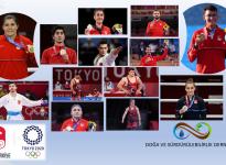 TOKYO 2020 OLİMPİYAT OYUNLARINDAN 13 MADALYA İLE DÖNEN SPORCULARIMIZI KUTLUYORUZ